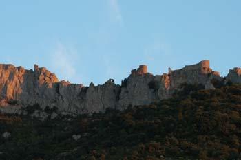 le château de Peyrepertuse, citadelle du vertige