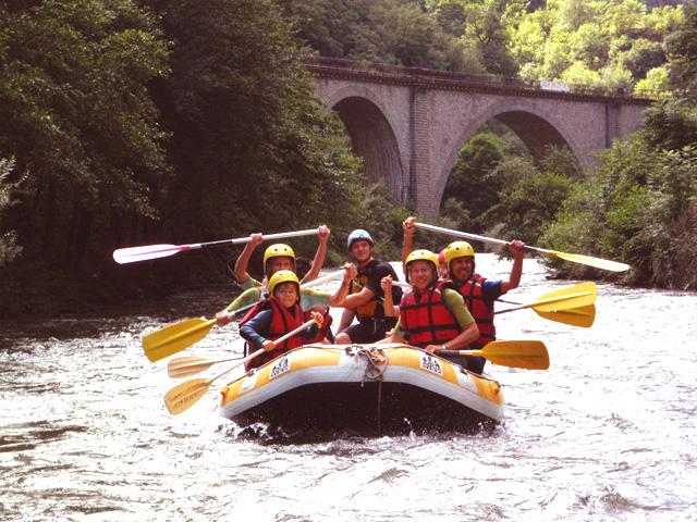 rafting a Axat